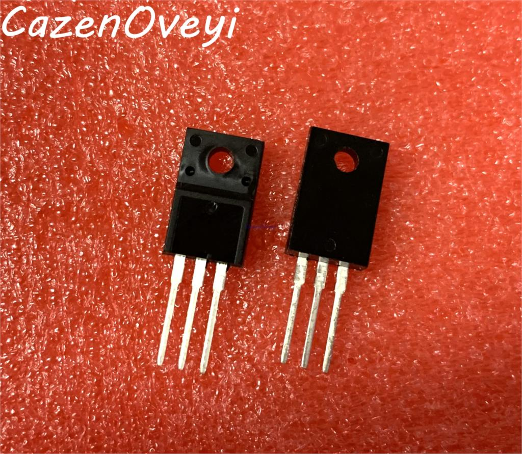 10pcs/lot FQPF6N80C FQPF6N80 <font><b>6N80C</b></font> 6N80 TO-220F In Stock image