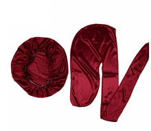 2020Unisex Men Silk Durag Match Silky Bonnet for Women Silky Durags Bandanas for Men Hat Long Tail Do Durag Waves CapUnisex M