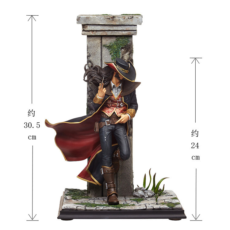 30.5cm Lol Twisted Fate Figure League Of Legends Action Figure High Quality Pvc Statue Model Anime Decoration Colection Toys