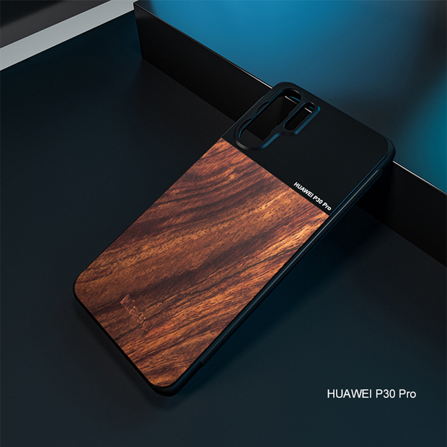 Kase Moblie Phone Lens Wooden+Aluminum Alloy Case Holder for Huawei Mate 20 P30 P40 P20 Pro P10 and 17mm Mount Smartphone Lens