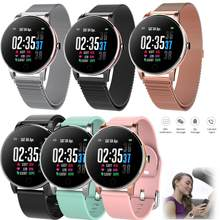 Waterproof Swimming Wristwatch Stainless Steel Smart Watch Bluetooth Message Push for IOS iPhone Android Samsung LG Huawei(China)