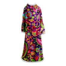 Dream Sleeve Blanket White 3D Print Colorful blanket Girls Fashion Plush Soft Bedding Portable Office Quilts Dropship