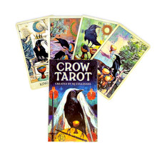 2021 New Style Crow Tarot Cards Mystical Guidance Divination Entertainment Partys Board Game Supports Wholesale 78 Sheets/Box