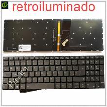 Клавиатура с испанской подсветкой для Lenovo IdeaPad s145 15 15iwl s145-15iwl v145, Латиноамериканский ноутбук SP LA