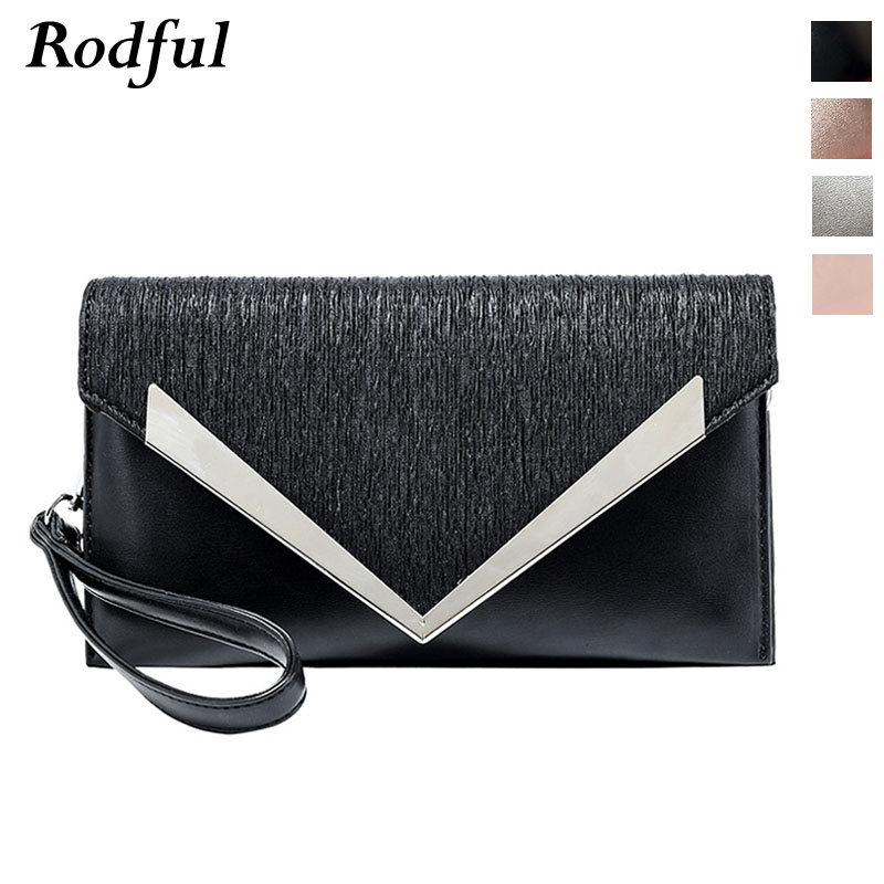 envelope leather evening party clutch bag women black silver gold fashion ladies handbag clutch bag purse female clutches women