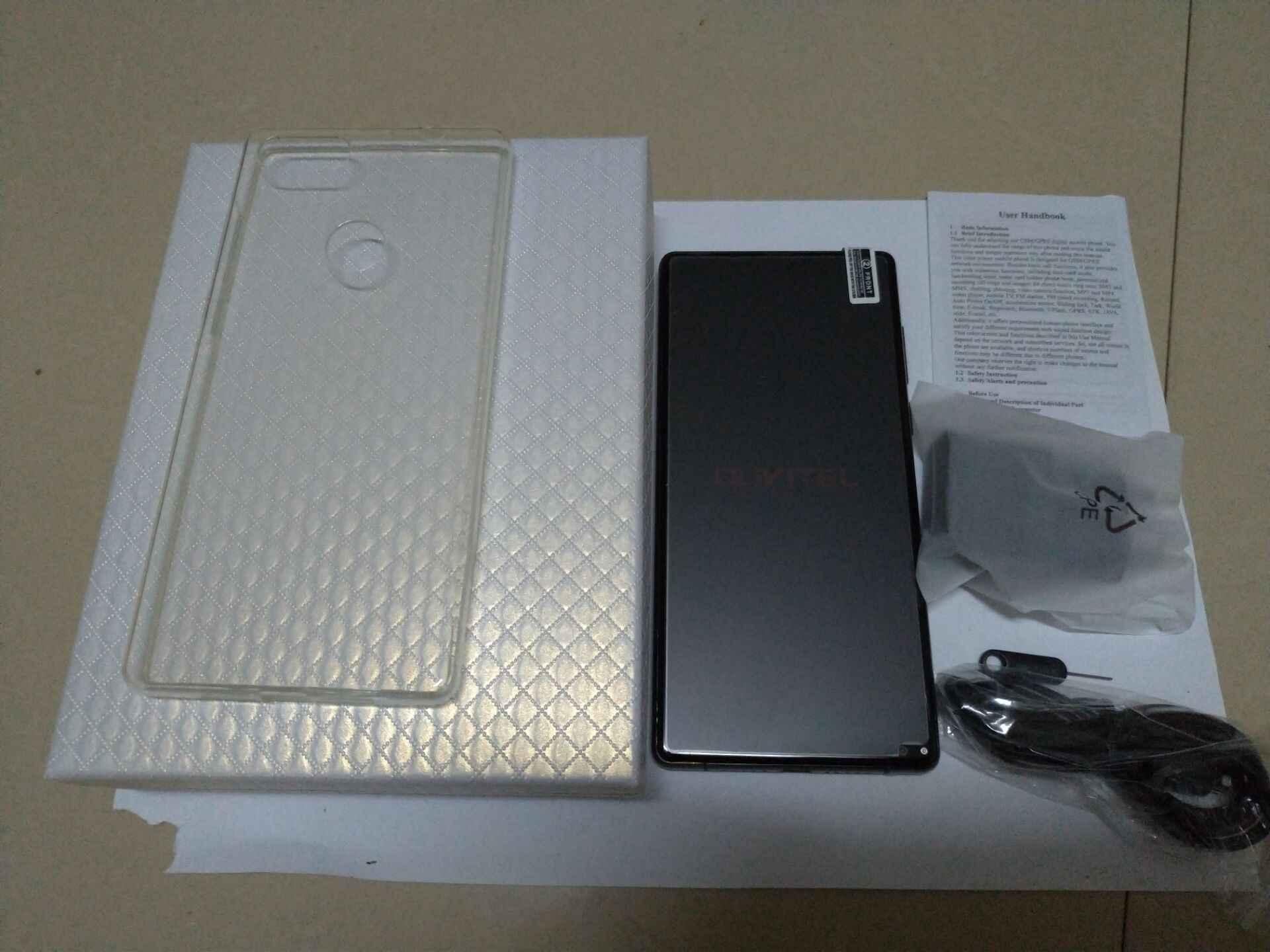 """شحن زجاج عليه طبقة غشاء رقيقة الأصلي Oukitel مزيج 2 5.99 """"FHD 18:9 هاتف ذكي هيليو P25 الثماني النواة 6GB + 64GB 21MP 4080mAh 4G LTE الهاتف المحمول"""