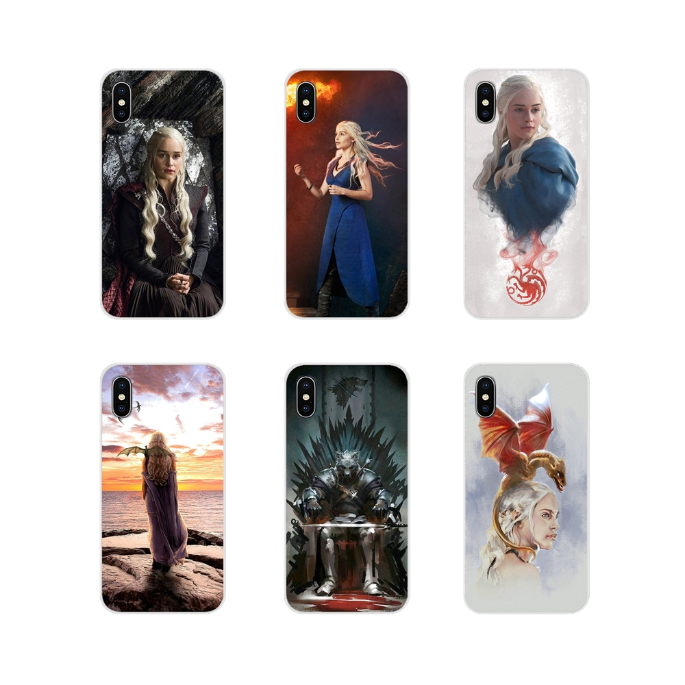 Games Of Thrones Targaryen Poster Phone Case Protector For Iphone X XR XS 11Pro MAX 4S 5S 5C SE 6S 7 8 Plus Ipad Touch 5 6