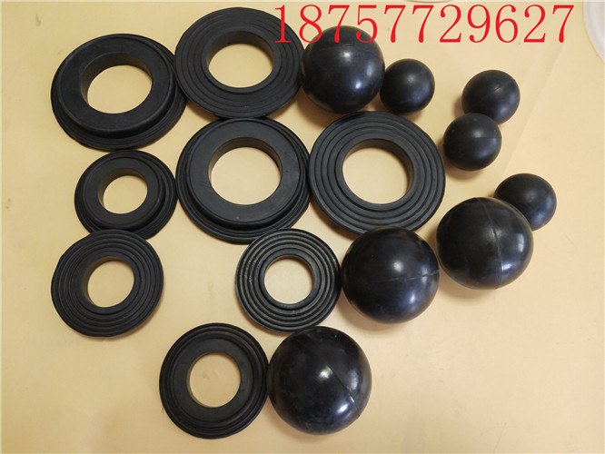 QBYQBK-25/40/50/65/80/100 Diaphragm Pump Ball Seat Butyl Eye Rubber Ball Seat Valve Ball Seat Accessories