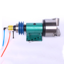 160 lathe spindle with pneumatic chuck automatic CNC three-jaw power head automation welding head instrument vehicle