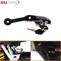 For BMW S1000R S1000RR HP4 2009 2010 2011 2012 2013 2014 2015 2016 2017 2018 Motorcycle Helmet Lock kit