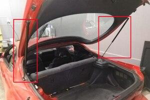 Image 3 - Otomatik arka Boot bagaj kapağı Liftgate araba gaz Struts bahar asansör destek damperi Toyota Celica 1990 1993 Hatchback 765mm