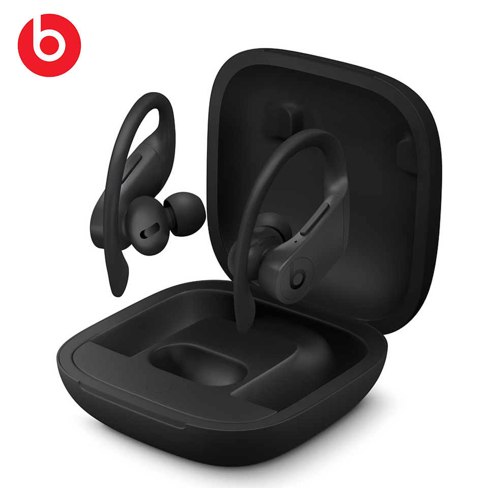 Beats powerbeats pro totally wireless earphone tws bluetooth earbuds sweatproof sport headset handsfree with mic charging case