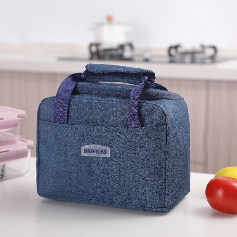 Bolsa de Almoço Refrigerador para Alimentos Recipiente de Armazenamento Portátil Crianças Piquenique Térmico Isolado Gelo Pacote Bolsa
