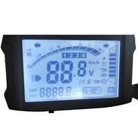 48V 60V 72V wyświetlacz LCD Instrument miernik kod tabeli prędkościomierz dla Ebike elektryczny motocykl vichel w Instrumenty od Samochody i motocykle na