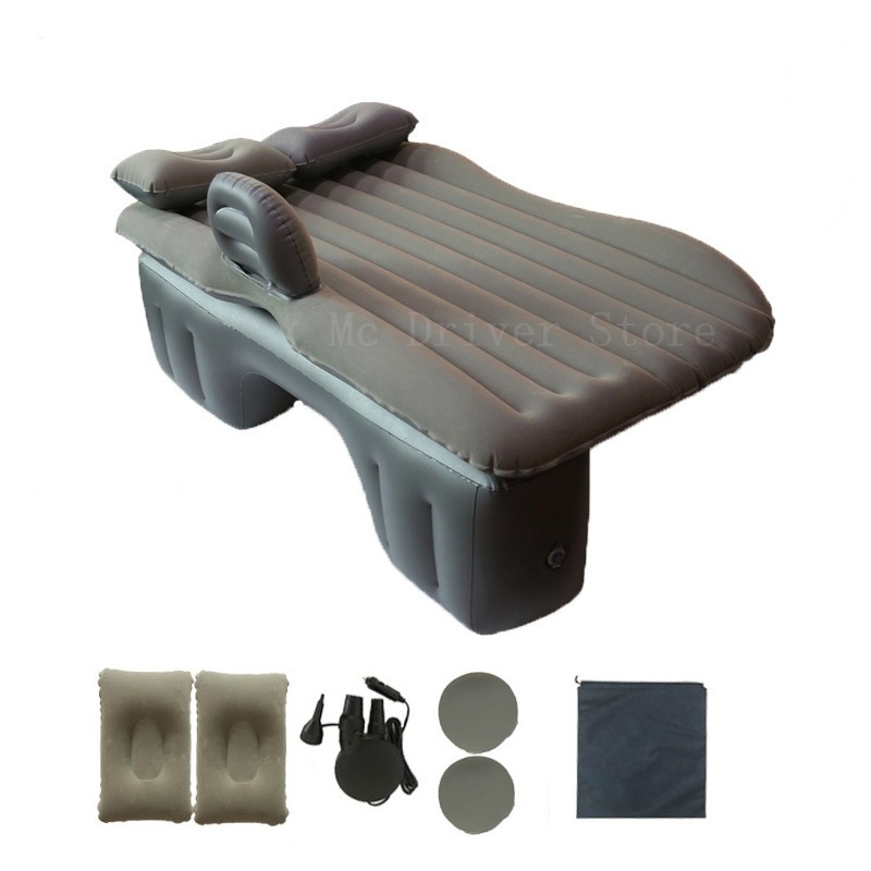 Top Selling Car Back Seat Cover Car Air Mattress Travel Bed Inflatable Mattress Air Bed Split Good Quality Water Floating Raft