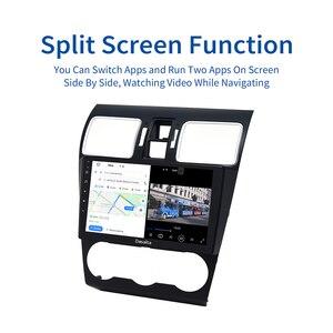 Image 3 - Dasaita Radio con GPS para coche, Radio con navegador, Android 10,0, 1 Din, estéreo, pantalla IPS de 9 pulgadas, MP3, MP4, AVI, SWC, para Subaru Forester, WRX XV, 2016, 2017