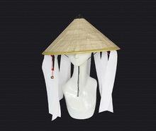 Naruto – Accessoires de Cosplay Akatsuki, Chapeau En Bambou, cool, paille, cône, Chapeau de soleil portant une cloche