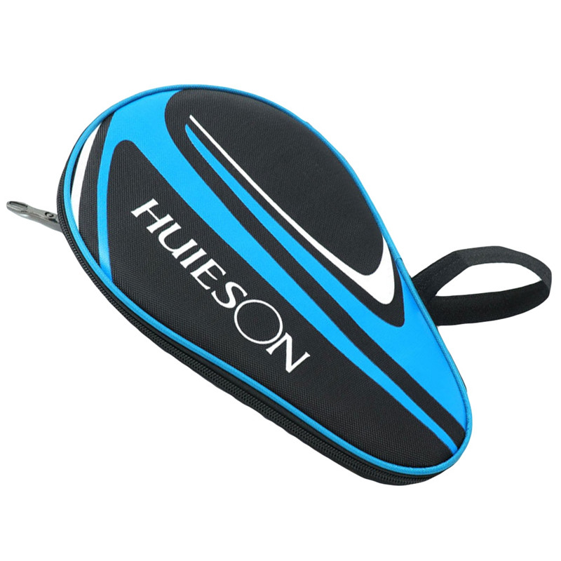 Table Tennis Racket Bag Training Professional Table Tennis Bag Dust Zipper Steel Ring Table Tennis Racket Storage Bag