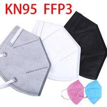pink gray white black face mouth masks ffp3 respirator filter facial mask kn95 washable reusable ffpp3 ffp3mask ffp 3 fpp3