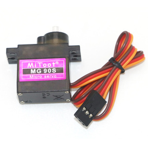 Image 4 - 4pcs/lot Mitoot MG90S 9g Metal Gear Upgraded SG90 Digital Micro Servos for Smart Vehicle Helicopter Boart Car