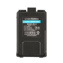 1800mAh литий-ионная батарея для Baofeng UV-5R UV-5RE Walkie Talkie двухстороннее радио