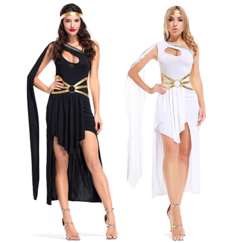 CHILDS HISTORICAL GREEK GODDESS ATHENA ANCIENT GREECE GIRLS FANCY DRESS COSTUME