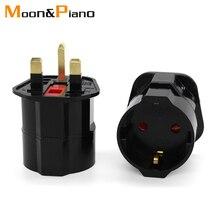 Multifunctionele Eu Euro Europese Naar Uk Stekkers Adapter Power Converter Stekkers 2 Pin Socket Reizen 250V 13A Universele Adapter