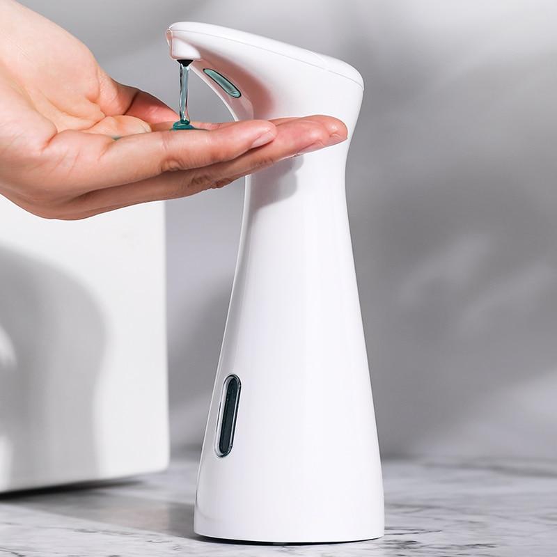 Bathroom Automatic Liquid Soap Dispenser Home TouchlessHand Sanitizer Bottle Kitchen Smart Sensor Soap Dispenser Dropshipping