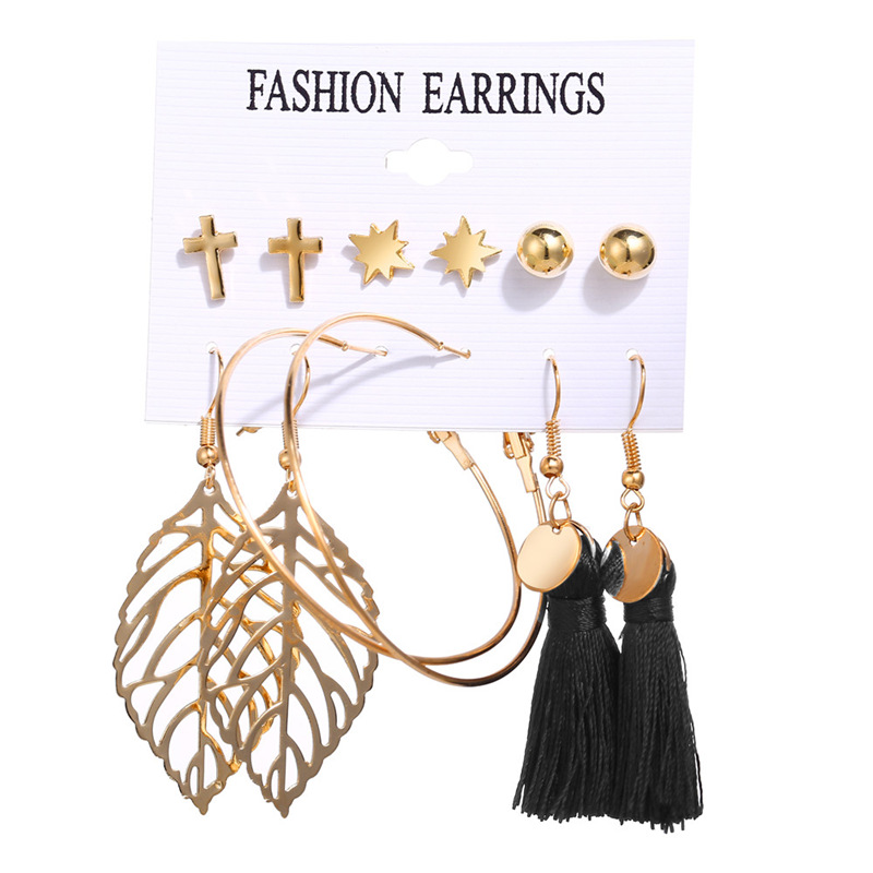 H21d8b582cf2b4a278544268d5b9a8998i - IF ME Fashion Vintage Gold Pearl Round Circle Drop Earrings Set For Women Girl Large Acrylic Tortoise shell Dangle Ear Jewelry