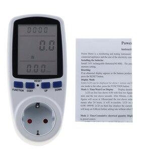 Image 5 - Kebidu medidores de potencia de CA de 230V, vatímetro Digital de toma, medidor de consumo de energía de vatios, Analizador de electricidad, Monitor EU