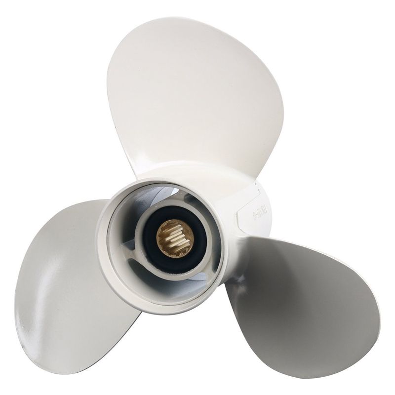 11 1/8 X 13-G New Aluminum Alloy 3 Blade Outboard Propeller For Yamaha 40-60Hp