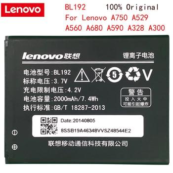Original Lenovo Battery BL192 BL 192 Li-ion Phone Battery For Lenovo A300 A750 A328 A328T A526 A388T A529 A680 A590 A560 A505E