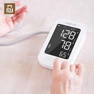 Image 1 - Youpin Andon Smart Blutdruck Monitor Arm Herzschlag Rate Pulse Meter Tonometer Blutdruckmessgeräte Pulsometer Für Hause
