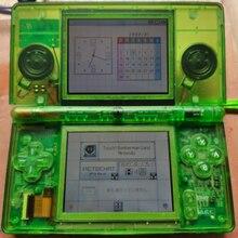 Пластиковый корпус подходит для Nintendo NDSL DSL DS NDS Lite полный комплект игровой консоли прозрачный зеленый розовый желтый