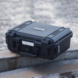 Image 3 - Waterproof Drone Box For DJI Mavic Mini Drone Heavy Duty Storage Bag Carrying Case Travel Portable Hardshell Handbox Protector