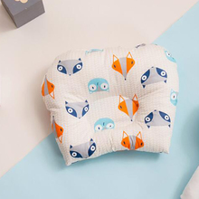 Baby Flat Head Pillow Newborn Infant Sleeping Cushion Stroller Portable Crib Pillows Cotton Baby Room Bedding sale baby cushion nurse shaping pillow pure cotton help sleeping protect head development evidence adjustable ages of 1 and 3