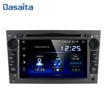 "Dasaita 7 ""2 din Android 10 Radio samochodowe dla opla Astra H Zafira Vivaro Vectra Tigra Corsa C samochodowy odtwarzacz DVD odtwarzacz 2004 Radio samochodowe Stereo"