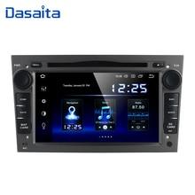 "Dasaita 7 ""2 din Android 10 araba radyo için Opel Astra H Zafira Vivaro Vectra Tigra Corsa C araç DVD oynatıcı oyuncu 2004 Autoradio Stereo"