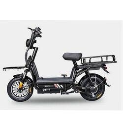 Voedsel Levering Bike Anti diefstal Batterij Ebike Voertuig Scooter fiets Volwassen Fiets 2 Wiel Elektrische Bakfiets op