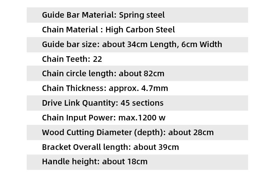 Conjunto de suporte serra elétrica ferramenta para