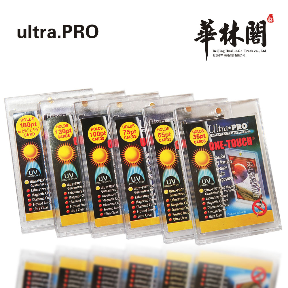 Ultra Pro Card Bricks 35PT/55PT/75PT/130PT/180PT For Star Cards Baseball Basketball Soccer Cards Deluxe Card