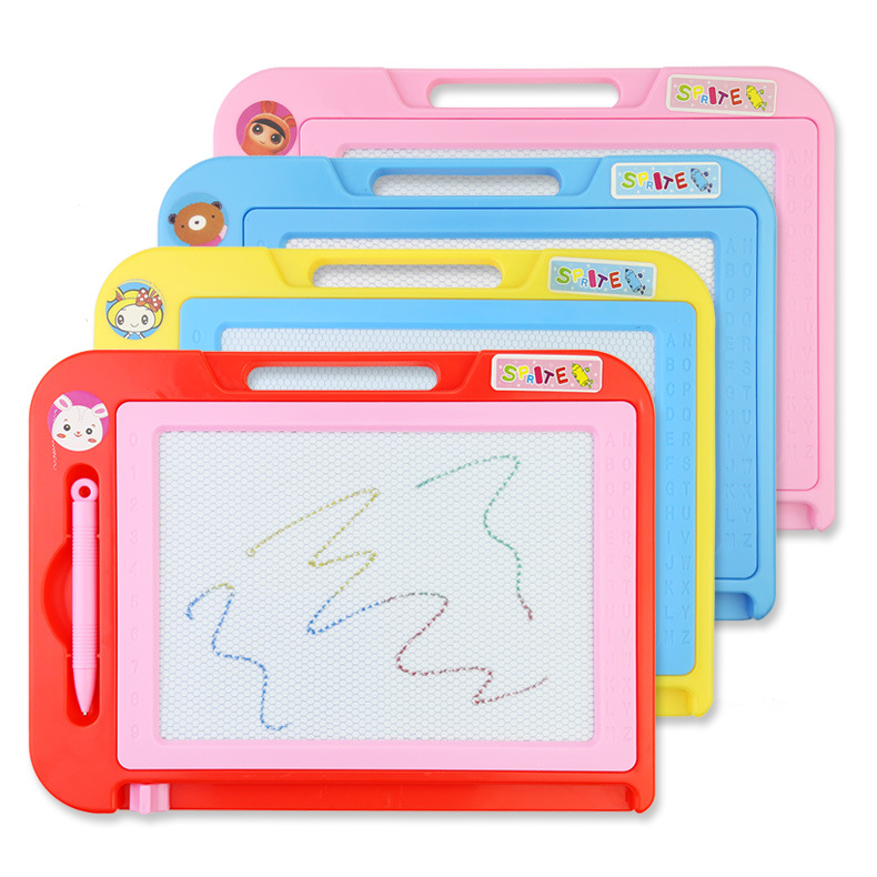 Painting Toys Color Magnetic Sketchpad Children Graffiti Baby Writing Board Early Teach Hand Painting Early Education Toys