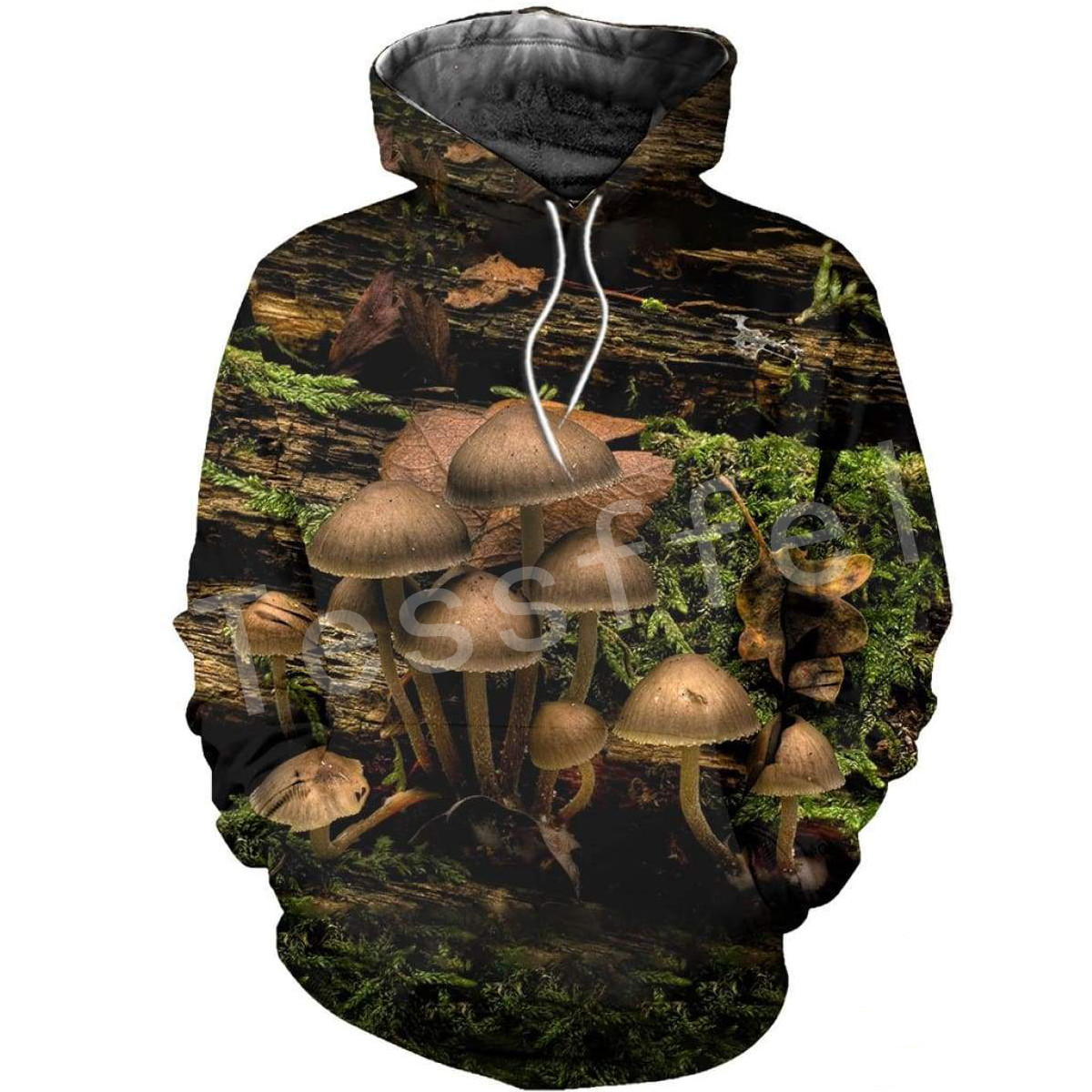 Tessffel Mushroom Colorful Tracksuit Unisex 3DPrint Hoodie/Sweatshirt/Jacket/shirts Mens Womens HIP HOP Cartoon Casual Style-2