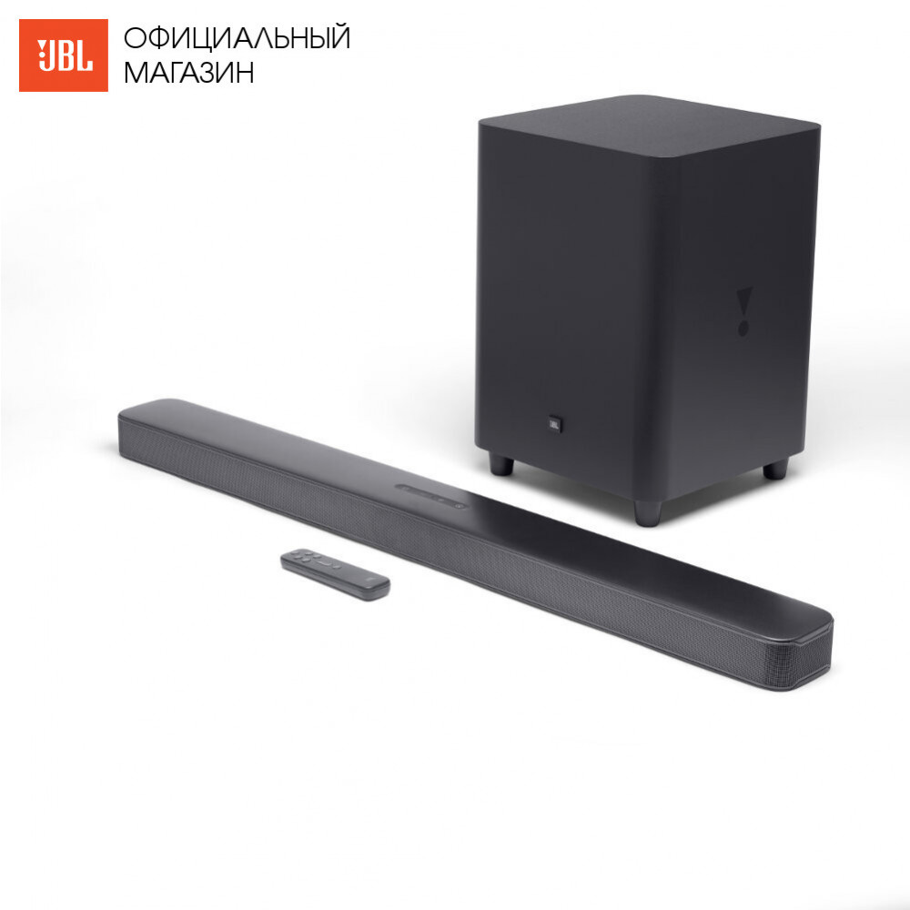 Home Theatre System JBL JBLBAR51IMBLKEP Electronics Audio music centre subwoofer Video sound bar wireless acoustic system