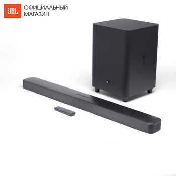 Home Theatre System JBL JBLBAR51IMBLKEP Elektronik Audio musik zentrum subwoofer Video sound bar wireless akustische system