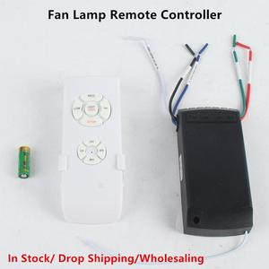 Ceiling Fan Lamp Remote Control Kit 110-240V Timing Wireless Control Switch Adjusted Wind Speed Transmitter Receiver Universal(China)