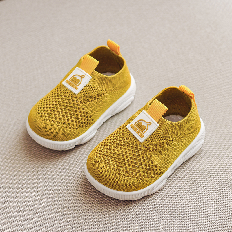 Baby Girls Boys Shoes Toddler Mesh Net Shoes First Walkers Socks Shoes Breathable 3colors 16-21 F02 950 TB01