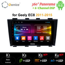 Ownice carplay Android 10 Octa Core Tablet PC reproductor de DVD GPS Navi mapa Radio 4G aux micrófono para Geely Emgrand EC8 2011 - 2015(China)