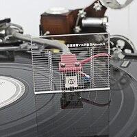 Lp vinil record player medição phono tonearm vta/cartucho azimute régua balance cartucho azimute régua headshell turntable