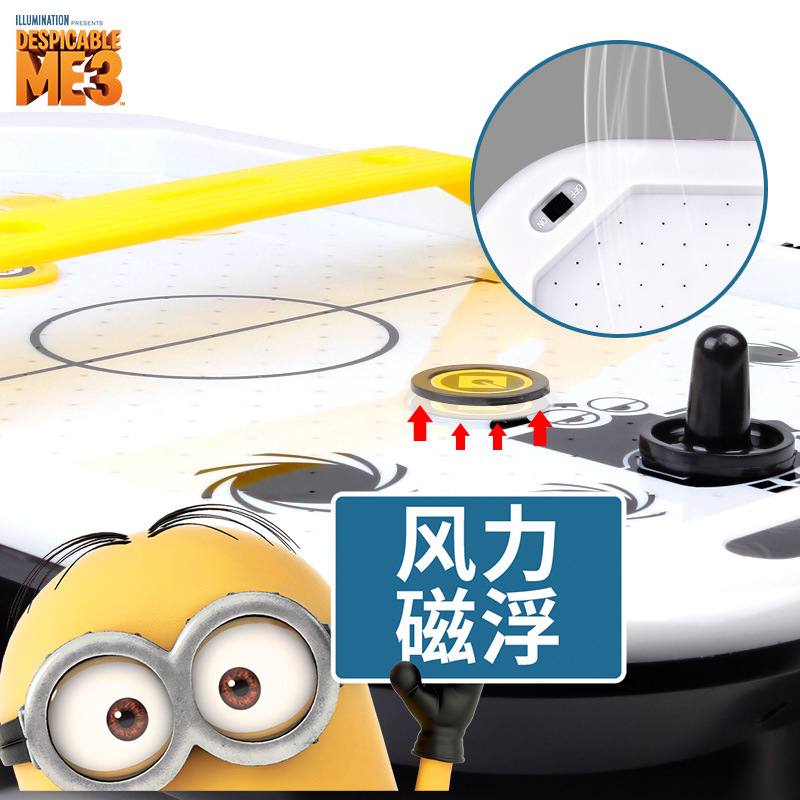 Despicable Me Children Table Ice Hockey Tabletop Game Parent And Child Interactive Toy Educational Double Play with Your Partner